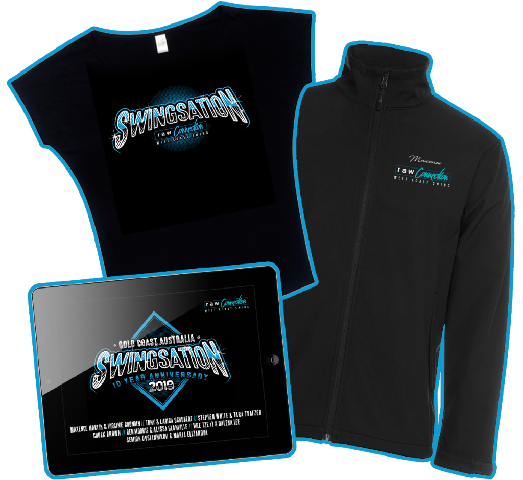 Raw Connection Swingsation 2019 Merchandise Package