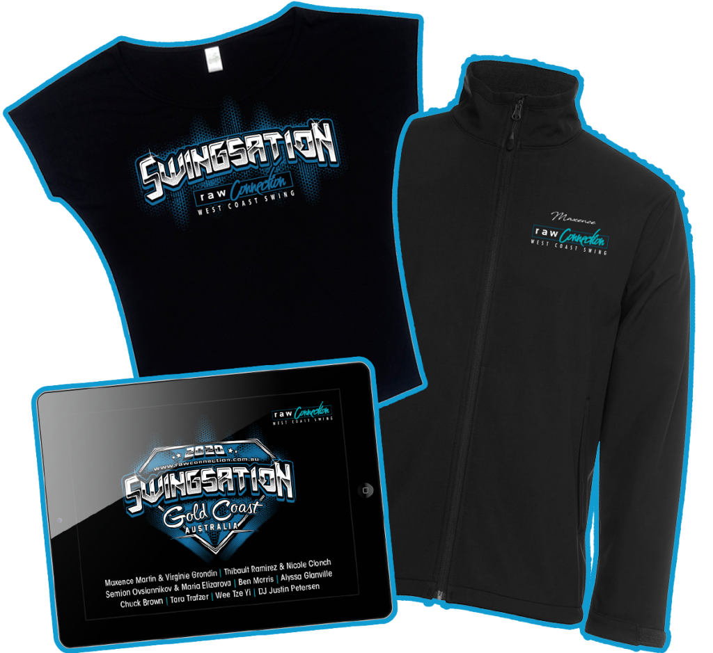 Swingsation Merchandise Package